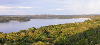 Rio Tapajos-Juruena confluence